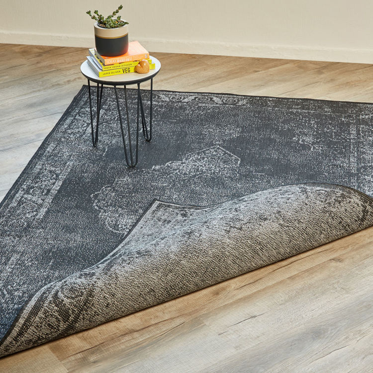 TIMELESS NIGHT/SILVER RUG