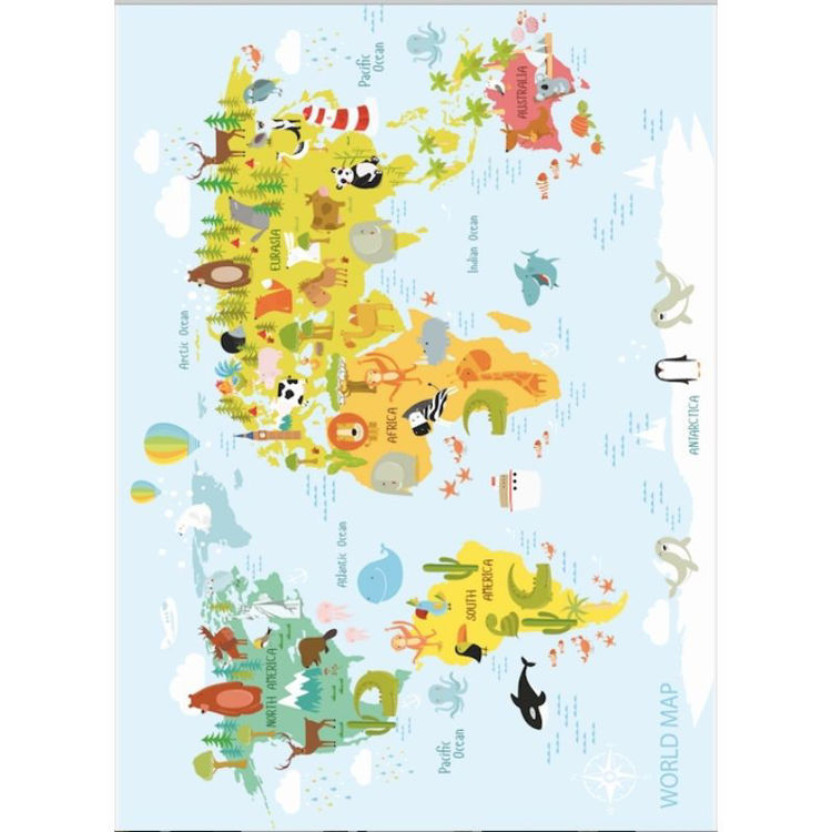 Picture of Kids Map Playmat